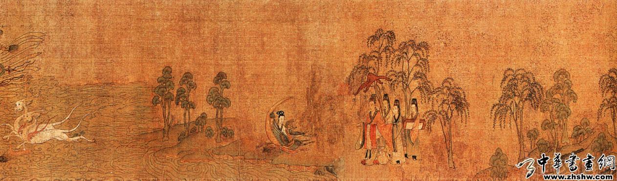《洛神赋图》东晋·顾恺之——中国十大传世名画